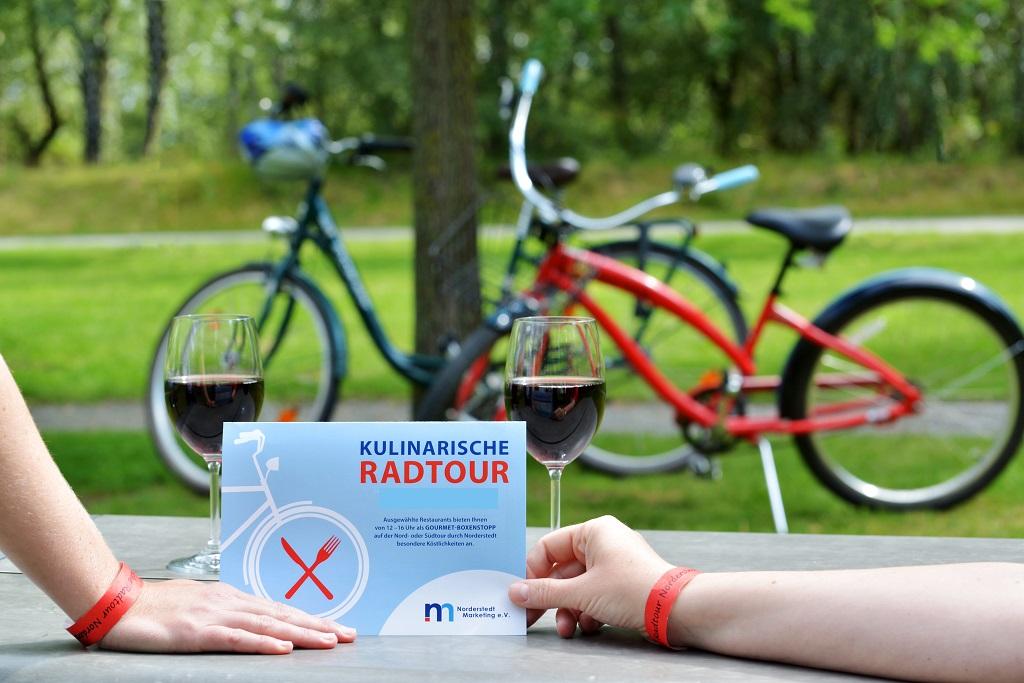 Kulinarische Radtour 2020 durch Norderstedt