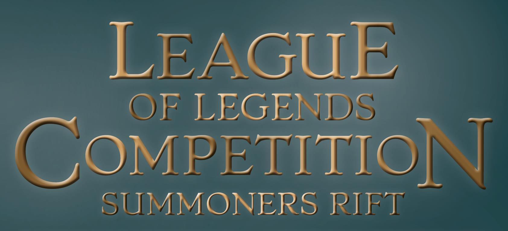 eSports: League of Legends Competition